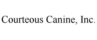 mark for COURTEOUS CANINE, INC., trademark #85568119