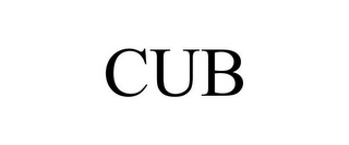 mark for CUB, trademark #85568304