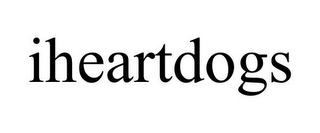 mark for IHEARTDOGS, trademark #85568614