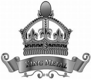 mark for KING METAL, trademark #85568653