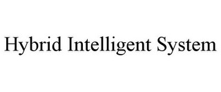 mark for HYBRID INTELLIGENT SYSTEM, trademark #85568808