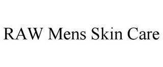 mark for RAW MENS SKIN CARE, trademark #85569050