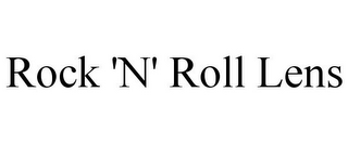 mark for ROCK 'N' ROLL LENS, trademark #85569068