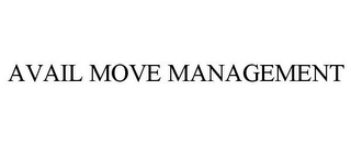 mark for AVAIL MOVE MANAGEMENT, trademark #85569151