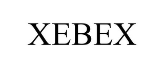 mark for XEBEX, trademark #85569332