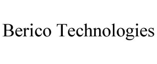 mark for BERICO TECHNOLOGIES, trademark #85569340