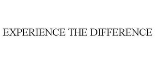 mark for EXPERIENCE THE DIFFERENCE, trademark #85569490