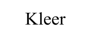 mark for KLEER, trademark #85569496