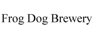 mark for FROG DOG BREWERY, trademark #85569708