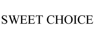 mark for SWEET CHOICE, trademark #85569742
