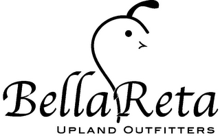 mark for BELLARETA UPLAND OUTFITTERS, trademark #85569885