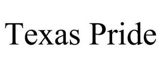 mark for TEXAS PRIDE, trademark #85569905