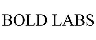 mark for BOLD LABS, trademark #85569961