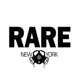 mark for RARE NEW YORK, RARE, trademark #85570169