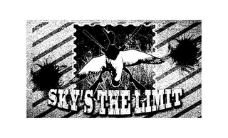 mark for SKY'S THE LIMIT HUNTING, trademark #85570175
