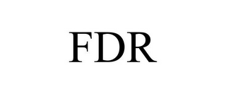 mark for FDR, trademark #85570282