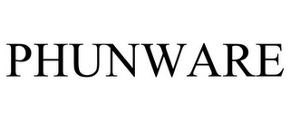 mark for PHUNWARE, trademark #85570612