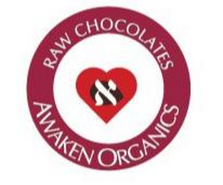 mark for RAW CHOCOLATES AWAKEN ORGANICS, trademark #85570902