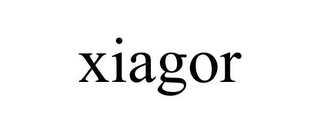 mark for XIAGOR, trademark #85571004