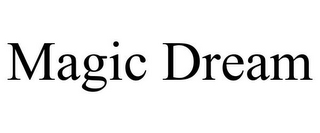 mark for MAGIC DREAM, trademark #85571057