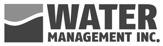 mark for WATER MANAGEMENT INC., trademark #85571666