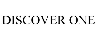 mark for DISCOVER ONE, trademark #85571675