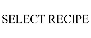 mark for SELECT RECIPE, trademark #85571913