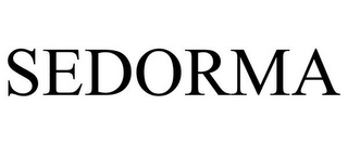 mark for SEDORMA, trademark #85572074