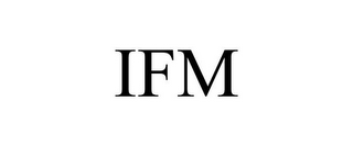 mark for IFM, trademark #85572227