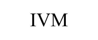 mark for IVM, trademark #85572248