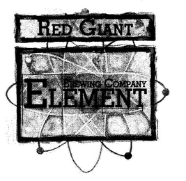 mark for RED GIANT ELEMENT BREWING COMPANY, trademark #85572404