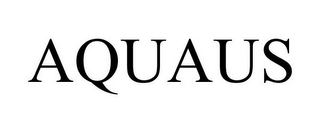 mark for AQUAUS, trademark #85572456