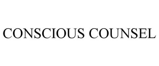 mark for CONSCIOUS COUNSEL, trademark #85572463
