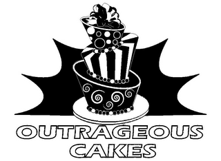 mark for OUTRAGEOUS CAKES, trademark #85572481