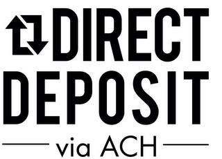 mark for DIRECT DEPOSIT VIA ACH, trademark #85572909