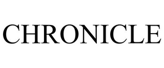 mark for CHRONICLE, trademark #85572932
