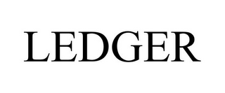 mark for LEDGER, trademark #85572942