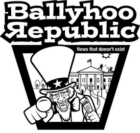 mark for BALLYHOO REPUBLIC NEWS THAT DOESN'T EXIST BR, trademark #85573046