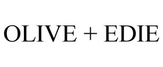 mark for OLIVE + EDIE, trademark #85573084