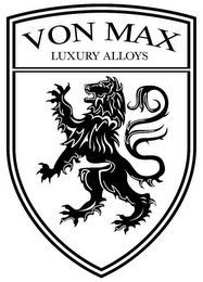 mark for VON MAX LUXURY ALLOYS, trademark #85573294