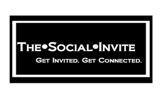 mark for THE·SOCIAL·INVITE GET INVITED. GET CONNECTED., trademark #85573734