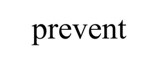 mark for PREVENT, trademark #85573755