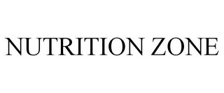 mark for NUTRITION ZONE, trademark #85574086