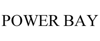 mark for POWER BAY, trademark #85574564