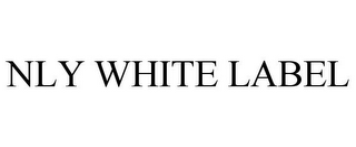 mark for NLY WHITE LABEL, trademark #85574583