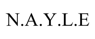 mark for N.A.Y.L.E, trademark #85574786