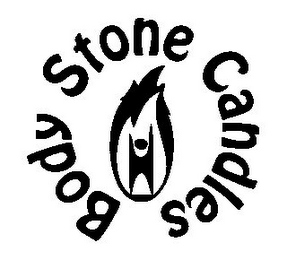 mark for BODY STONE CANDLES, trademark #85575064