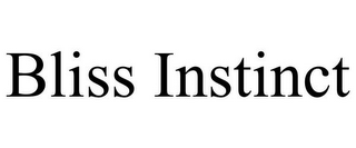 mark for BLISS INSTINCT, trademark #85575212