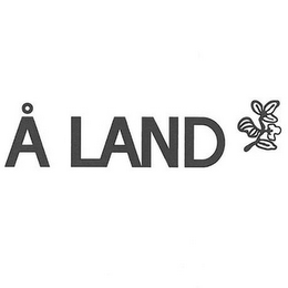 mark for Å LAND, trademark #85575221