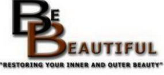 "mark for BE BEAUTIFUL ""RESTORING YOUR INNER AND OUTER BEAUTY"", trademark #85575299"